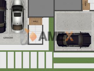 Foto do Sobrado-Exclusivo Sobrado Com Terraço 158m² 3 quartos 1 suíte 2 vagas Xaxim