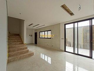 Foto do Sobrado-Sobrado Triplex com espaço gourmet, 4 suítes e 3 vagas de garagem à venda, São Francisco, Curitiba, PR