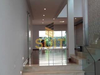 Foto do Sobrado-Alpha Plus - Lindo Sobrado com 4 Dormitórios Suítes + Hidro e Piscina com 5 Vagas na Garagem - Alphaville Residencial SP