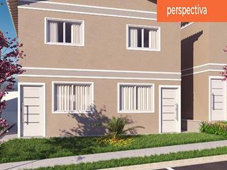 Perspectiva do Sobrado-Condomínio Parque das Cerejeiras - Sobrado à venda, Bragança Paulista - Entrada parcelada direto com a Incorporadora! Consulte