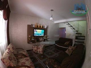 Foto do Sobrado-Sobrado com 3 dormitórios à venda, 140 m² por R$ 320.000 - Cidade Serodio - Guarulhos/SP