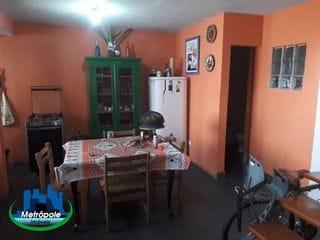 Foto do Sobrado-Sobrado à venda, 123 m² por R$ 260.000,00 - Conjunto Residencial Haroldo Veloso - Guarulhos/SP
