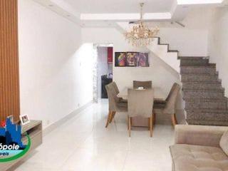 Foto do Sobrado-Sobrado à venda, 155 m² por R$ 560.000,00 - Jardim São Francisco - Guarulhos/SP