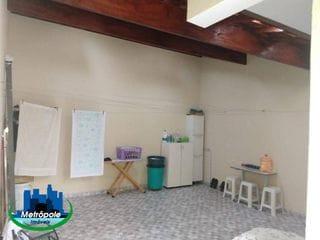 Foto do Sobrado-Sobrado com 3 dormitórios à venda, 120 m² por R$ 550.000 - Jardim São Francisco - Guarulhos/SP