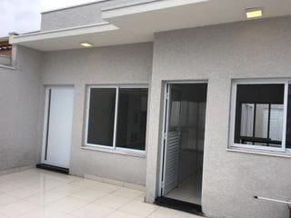 Foto do Casa-Casa térrea à venda 140m2 de terreno, 90m2 de área construída,  composto por 3 dormitórios, dois Banheiro sendo um suíte, garagem para 2 carros.