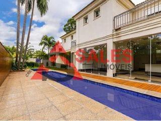 Foto do Sobrado-Excelente Sobrado de alto Padrão com 4 suítes  à venda, 720 m² por R$ 8.500.000,00 localizado na Rua Miranda Guerra - Jardim Petrópolis, São Paulo, SP