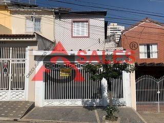 Foto do Sobrado-Sobrado à venda, R$ 650.000 2 dormitórios, 85 metros, 2 salas, 1 vaga - Perto do Metro Santos-Imigrantes -Vila Firmiano Pinto, São Paulo, SP