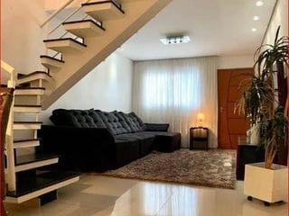 Foto do Sobrado-Sobrado à venda, 100 m² por R$ 676.000,00 - Chácara Seis de Outubro - São Paulo/SP