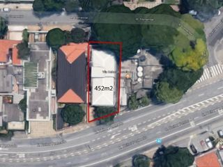 Foto do Terreno-Terreno à venda, 452 m² por R$ 3.000.000 - Vila Madalena - São Paulo/SP