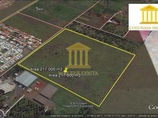 Foto do Terreno-Área com 217.000 m², Comercial para Empreendimento, no Bairro Cascata, em Paulínia - SP.