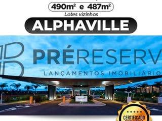 Foto do Terreno-Excelente terreno com 470 m² à venda no Condomínio Alphaville - Bauru/SP,  Segurança e muita qualidade de vida para você e sua família!