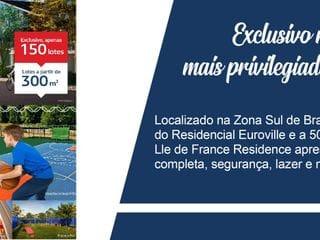Foto do Terreno-Terreno de Condomínio, Ile de France Residence, Bragança Paulista - R$ 180 mil, Cod: 381. Agende sua visita com a Dennes Imóveis.