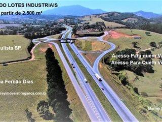Foto do Terreno-Terreno à venda, Lotes ou Terrenos Industriais, a partir de 2.500 m², Bragança Paulista.