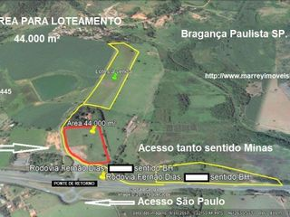 Foto do Terreno-Terreno à venda, Guaripocaba, Bragança Paulista.