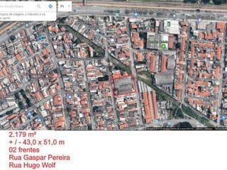 Foto do Terreno-Terreno à venda, 2193 m² por R$ 6.579.000,00 - Vila Paulistania - São Paulo/SP