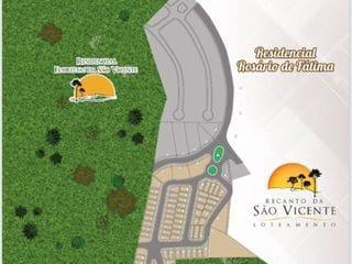 Perspectiva do Terreno-Condomínio Residencial Recanto da  São Vicente, em  Bragança Paulista, SP - O mais novo Loteamento fechado próximo ao Bragança Garden Shopping