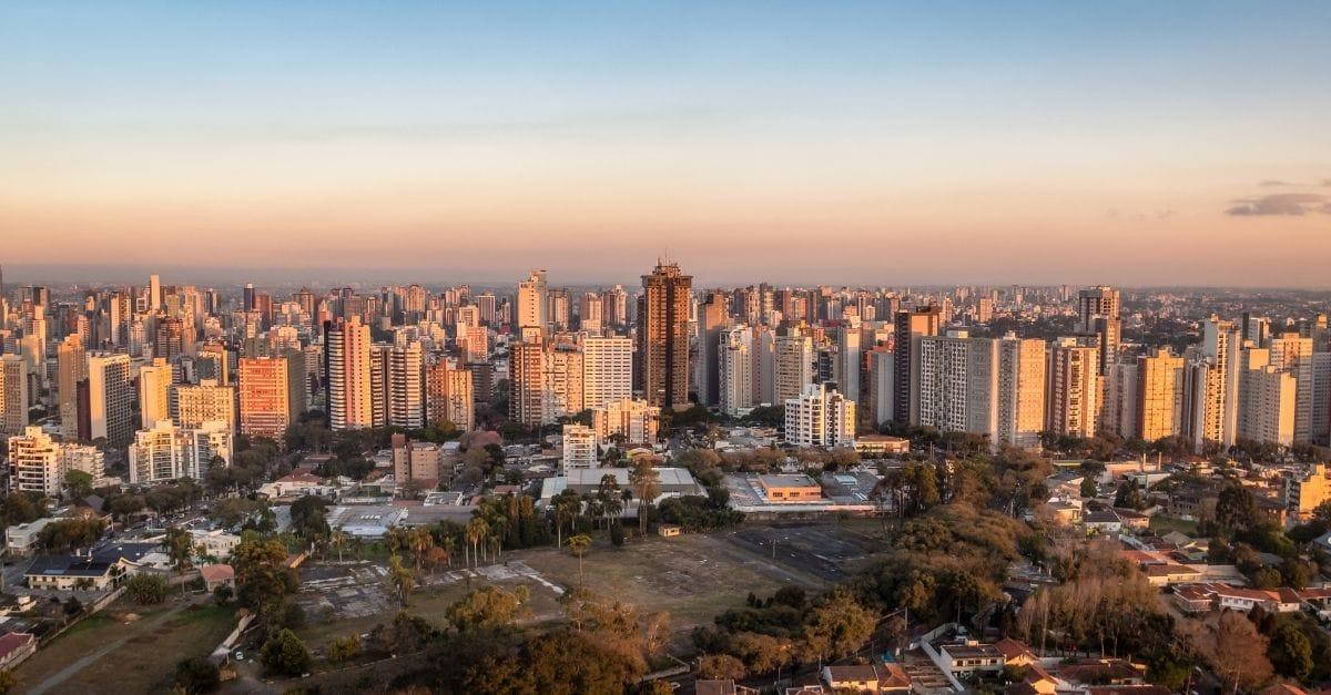 Ilustração de Bigorrilho Curitiba - PR