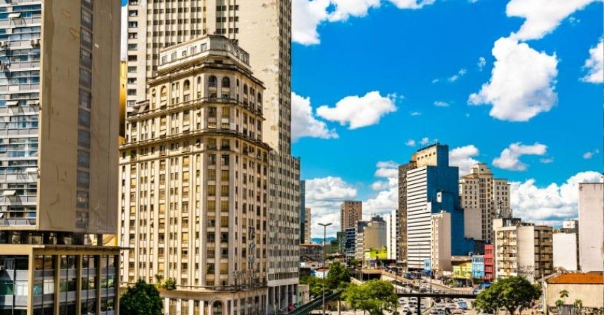 Ilustração de Centro Histórico de São Paulo São Paulo - SP