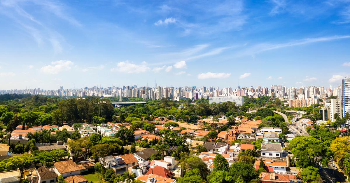 Ilustração de Indianópolis São Paulo - SP
