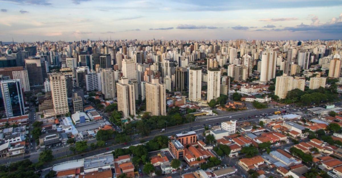 Ilustração de Itaim Bibi São Paulo - SP