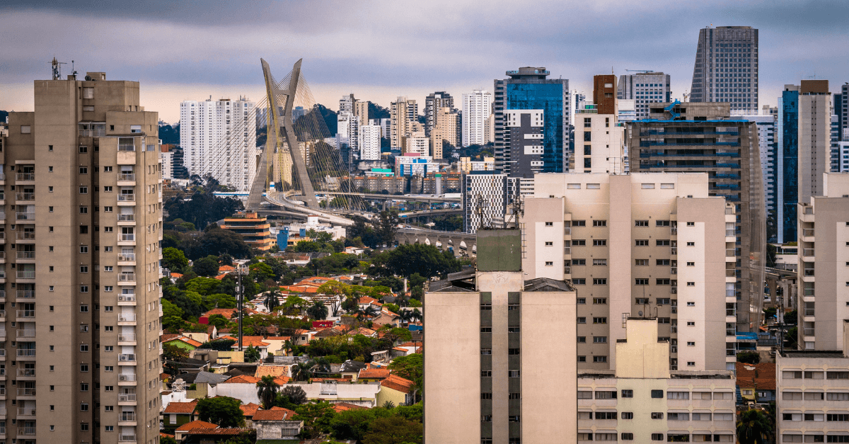 Ilustração de Jardim das Acacias São Paulo - SP