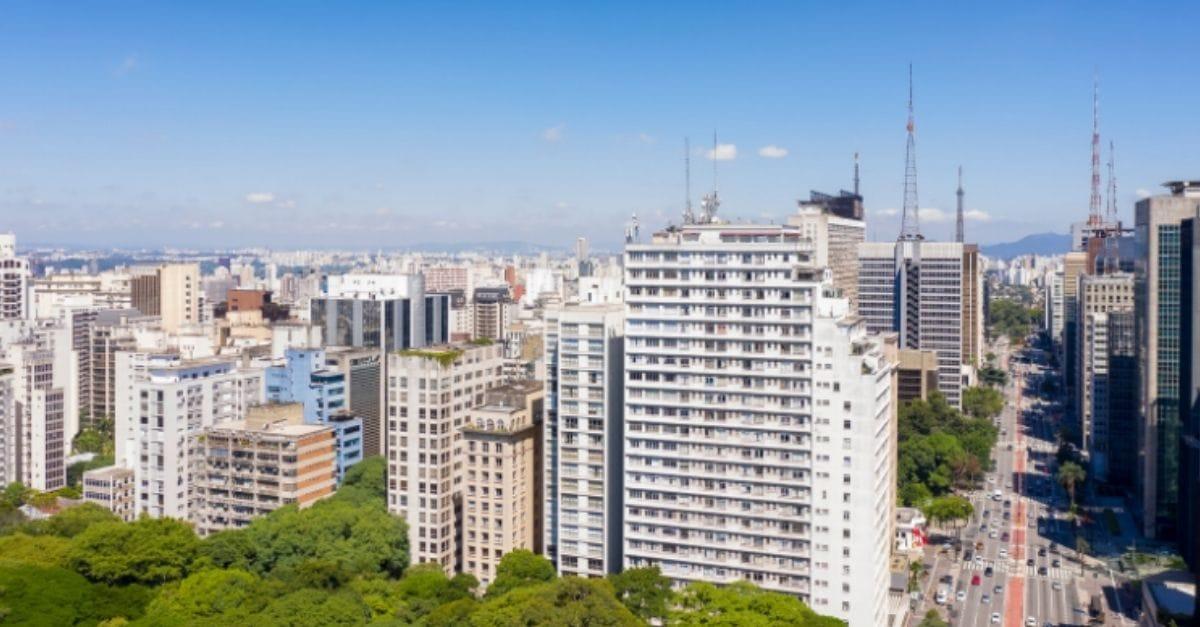 Ilustração de Jardim Paulista São Paulo - SP