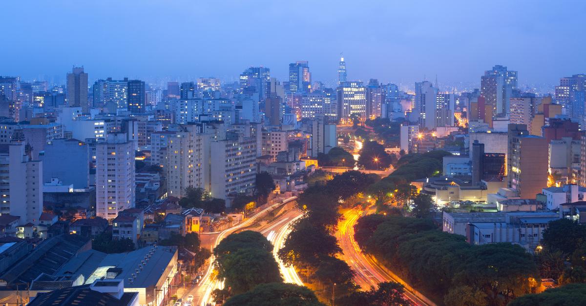 Ilustração de Paraíso São Paulo - SP