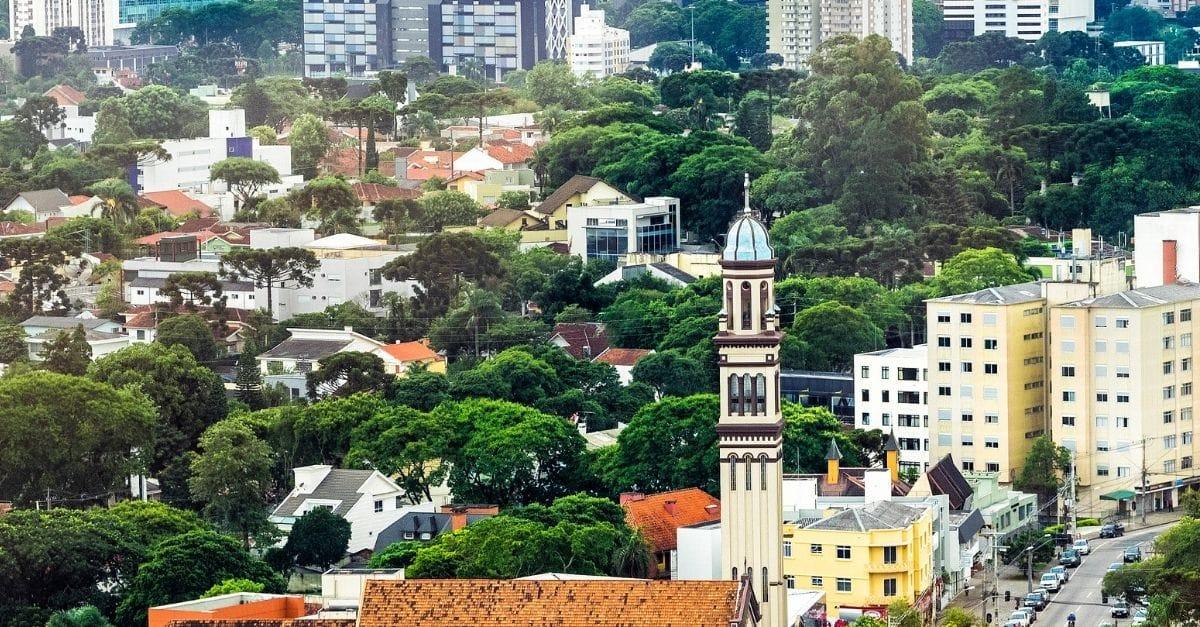 Ilustração de Portão Curitiba - PR