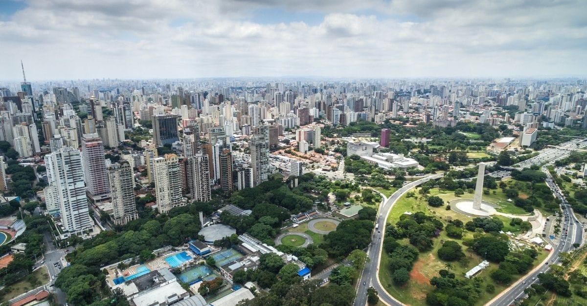 Ilustração de Vila Clementino São Paulo - SP