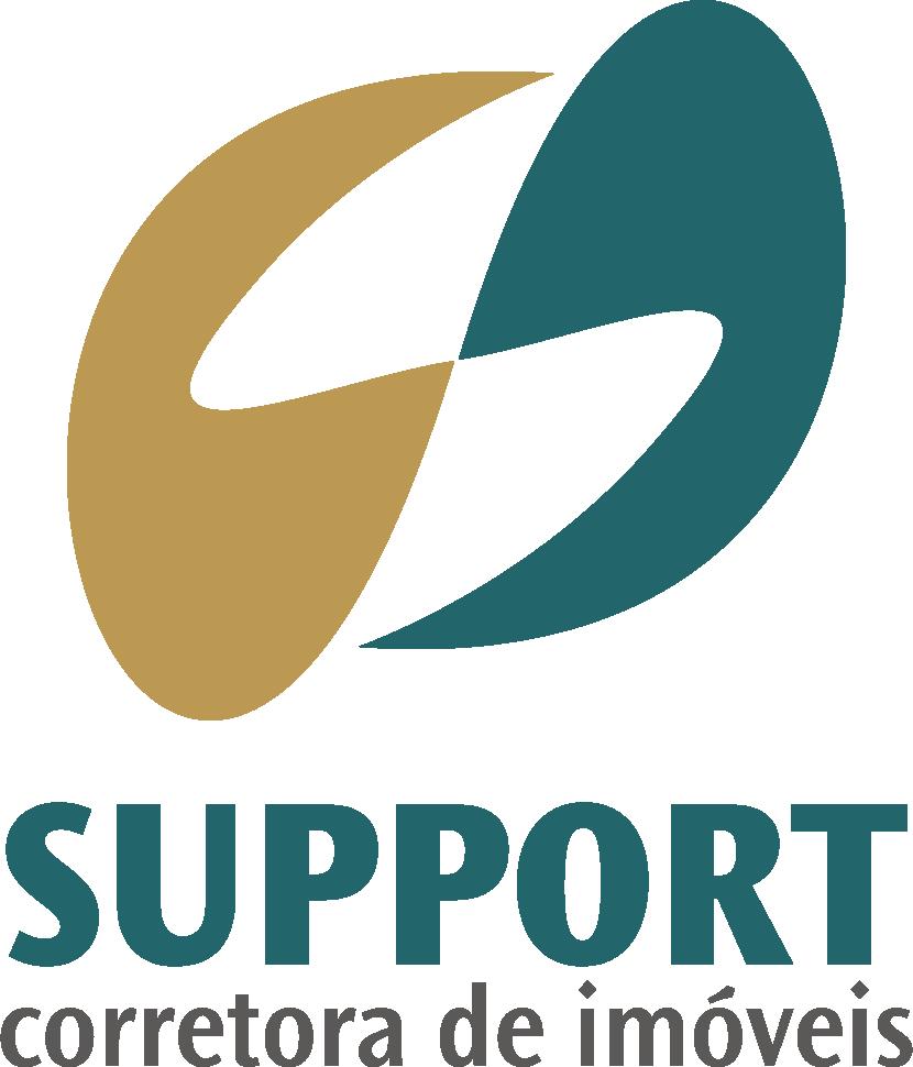 Logo da imobiliária Support Corretora de Imóveis